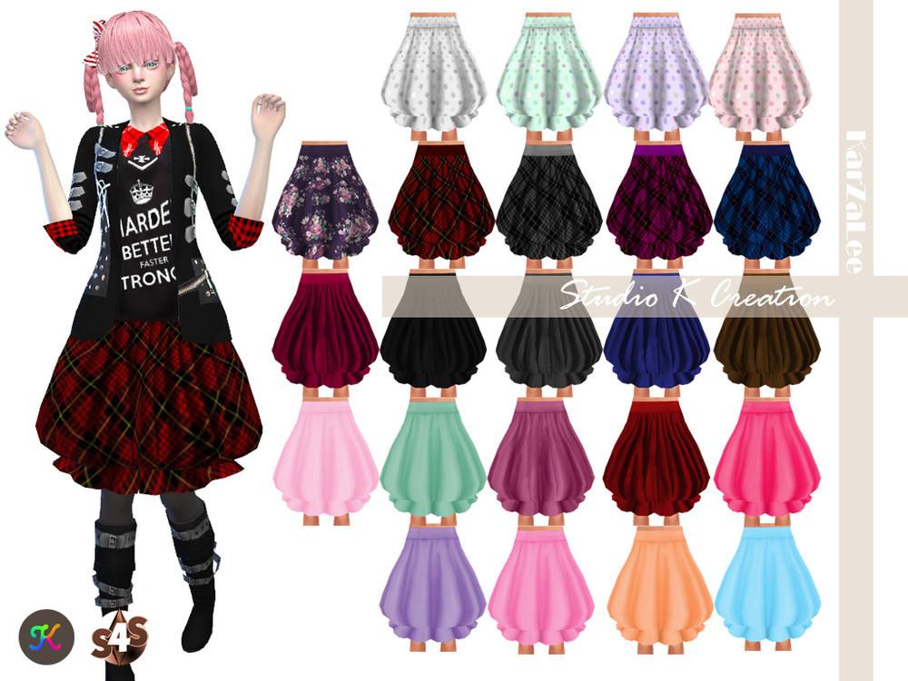 Baloon Skirt 25