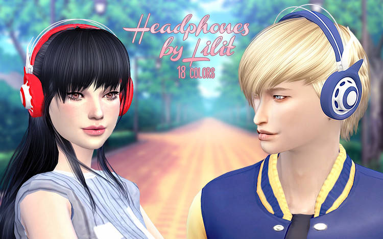 TS4-Headphones by Lilit by Lilit - SimsDay