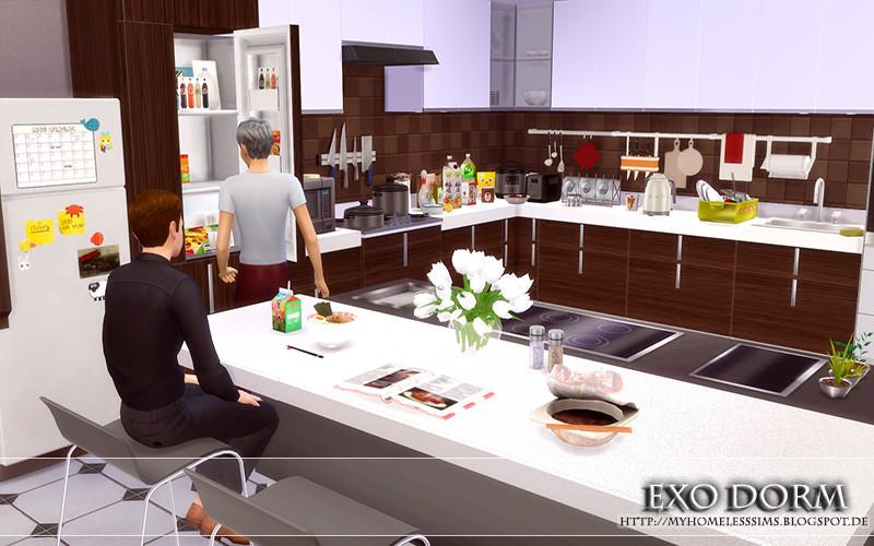 Exo Dorm Rooms