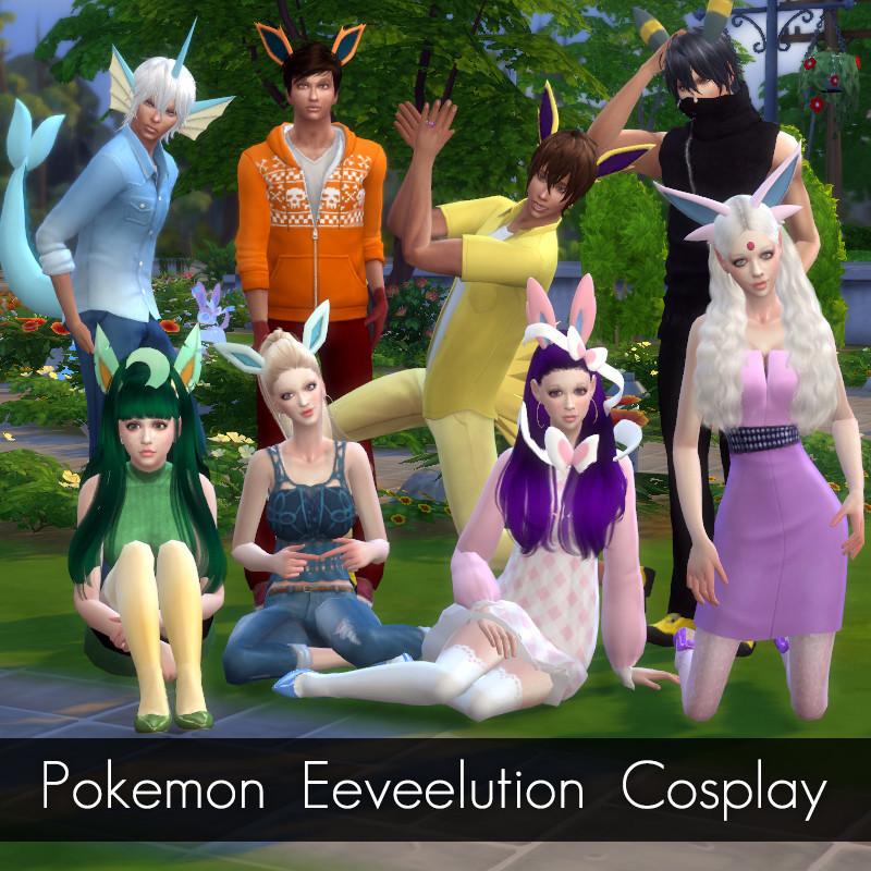 Pokemon Eeveelution Cosplay By Matchagreengirl Simsday